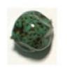 Glass Bead 12mm Nuggets Stone Washed Matrix Strung
